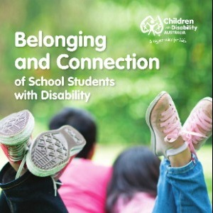 Belonging and connection of school students with disability