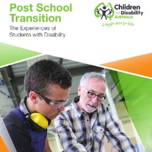 Post school transition: The experiences of students with disability