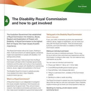 The Disability Royal Commission and how to get involved